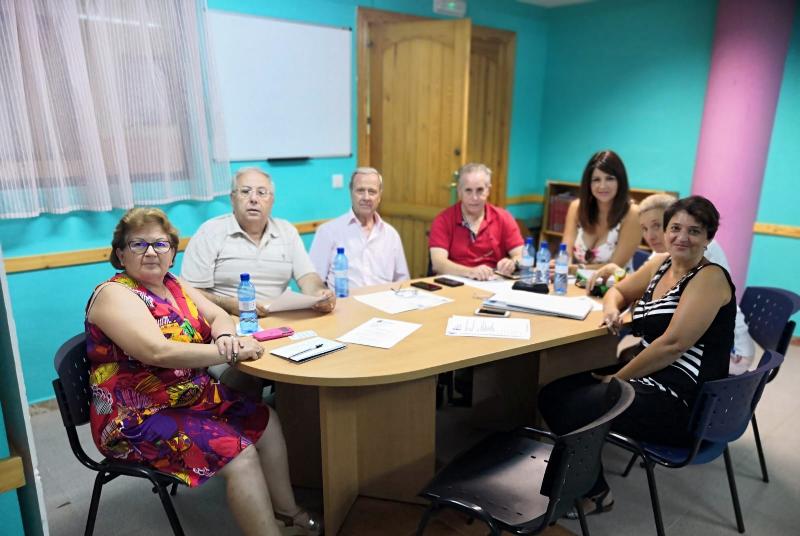 La Junta Directiva del Centro de Participación de Mayores celebra su reunión de coordinación.