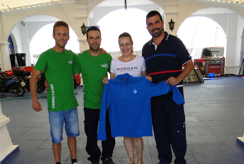 El Club Deportivo de Pesca de Benalmádena participa en el campeonato provincial en la Playa de San Andrés