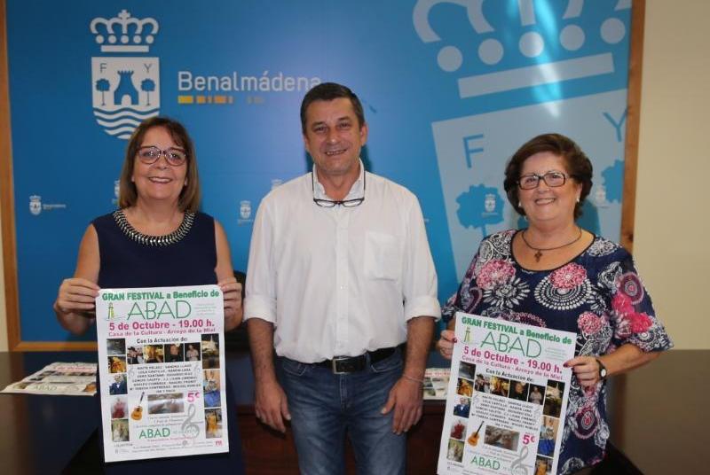 LA CASA DE LA CULTURA ACOGERÁ EL VIERNES 5 UN FESTIVAL A BENEFICIO DE ABAD