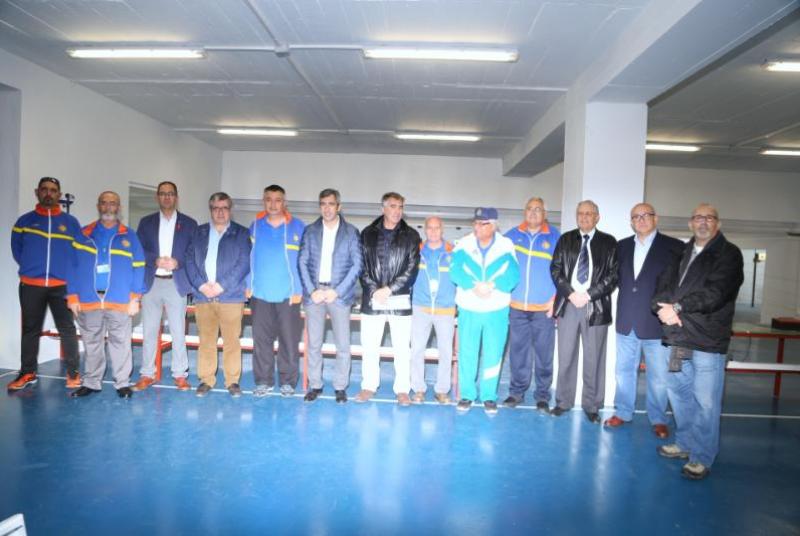 EL CLUB DE TIRO OLÍMPICO ARROYO DE LA MIEL 222 INAUGURA SU GALERÍA DE TIRO