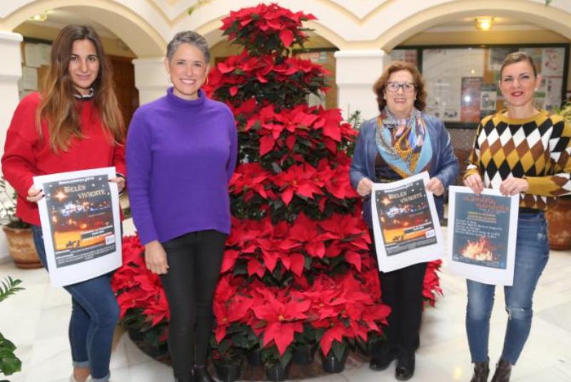 La programación navideña continuará esta semana con El Belén Viviente y La Candela Navideña Rociera.