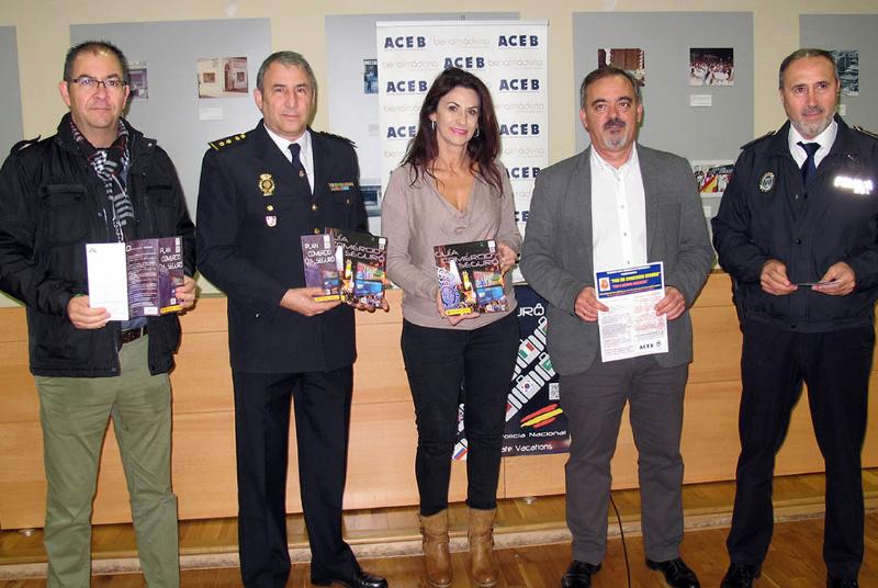 ACEB y ACCAB presentan su campaña 'Comercio Seguro' para estas fiestas navideñas.