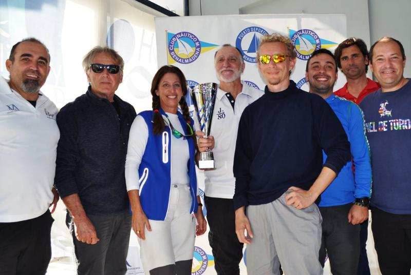 El velero 'Ya Andará', gran triunfador al imponerse en categoría ORC 2 en el Trofeo Interclues y en el de Regularidad.
