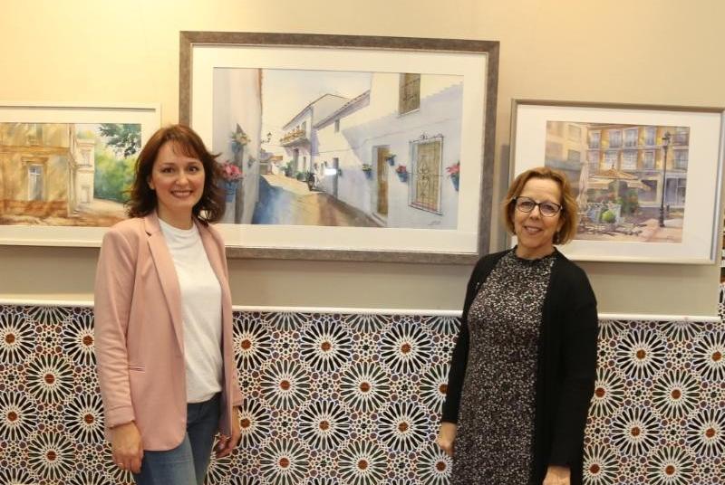 EL CASTILLO DE BIL-BIL ACOGE LA EXPOSICIÓN 'LOS COLORES MEDITERRÁNEOS' DE LA ARTISTA RUSA ANNA STEBAKOVA