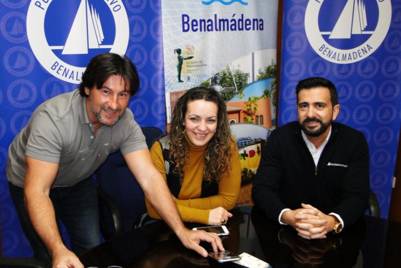 El Puerto Deportivo renueva su patrocinio a Estévan Díaz, subcampeón del mundo junior de motonáutica