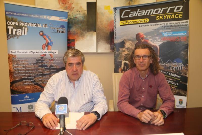 Más de 550 corredores participan este domingo 17 en la 11º edición de la carrera por montaña de Calamorro.