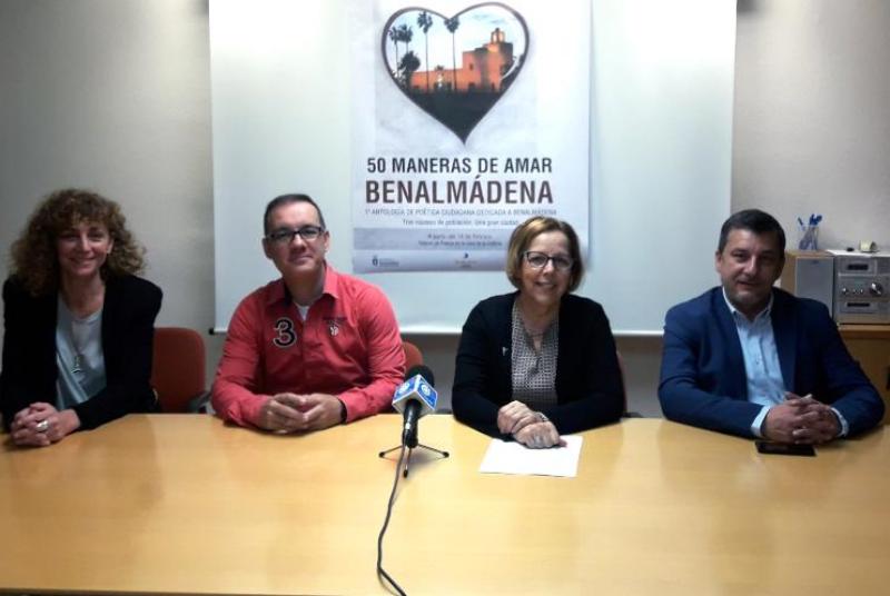 50 benalmadenses participan en la antología poética sobre las maneras de amar a Benalmádena.