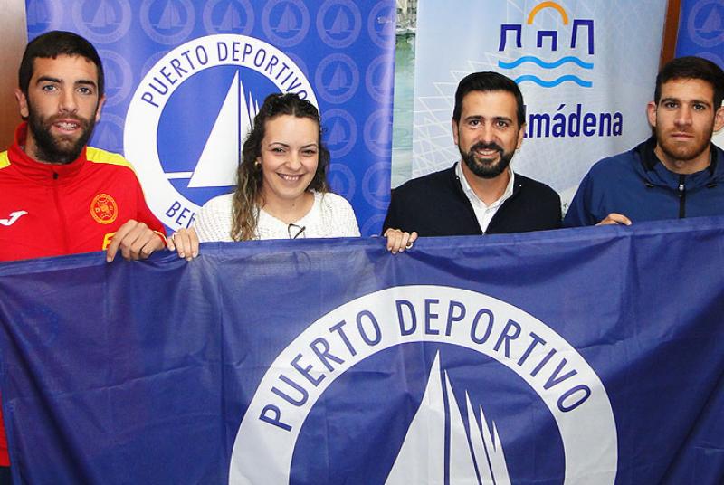 El Puerto Deportivo patrocinará a los campeones de taekwondo itf Sergio Valero y Francisco Castro.