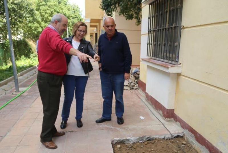 Provise acomete el arreglo de una deficiencia en la edificación de las viviendas sociales en Béjar.