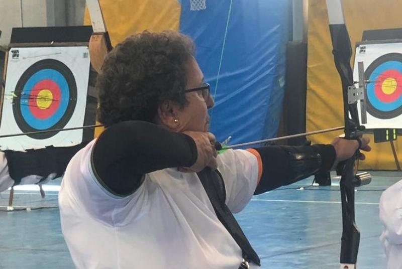 La benalmadense Josefa López Sedeño gana el Campeonato de Tiro con Arco del VII Trofeo Sólo Mujeres.
