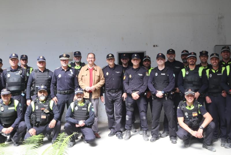 AGENTES DE LA POLICÍA LOCAL RECIBEN UN CURSO DE INTERVENCIÓN POLICIAL EN INCIDENTES AMOK