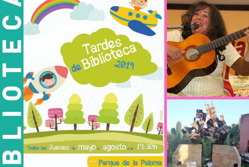EL PRÓXIMO JUEVES 2 DE MAYO LOS CUENTACUENTOS VUELVEN A LA BIBLIOTECA DE ARROYO DE LA MIEL