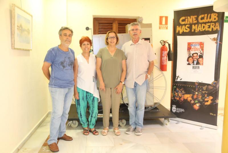 EL CINE-CLUB 'MÁS MADERA' CIERRA SU TEMPORADA CON LA PROYECCIÓN DE UNA PELÍCULA DE LOS HERMANOS MARX Y UN HOMENAJE A LAS GRANDES FRASES DE LA HISTORIA DEL CINE