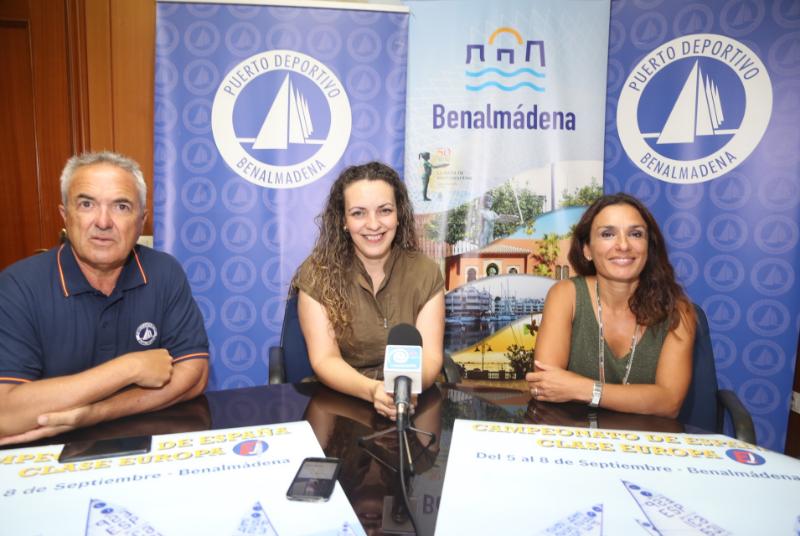 Las aguas de Benalmádena acogerán el Campeonato de España de vela de clase Europa.
