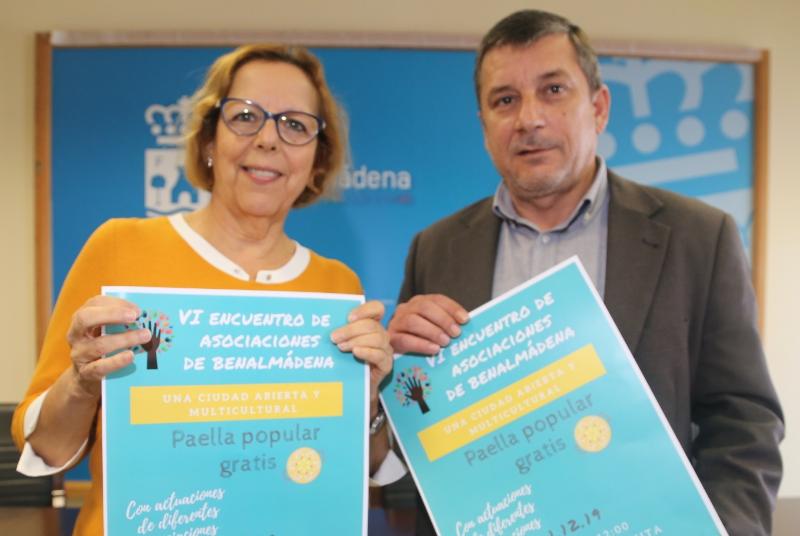 LAS ASOCIACIONES DE BENALMADENA CELEBRAN SU FIESTA ANUAL ESTE DOMINGO 1 DE DICIEMBRE