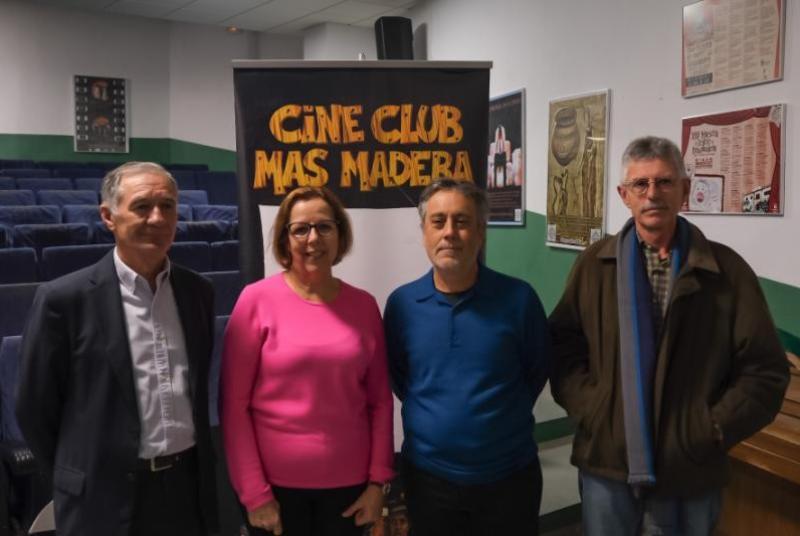 EL CINE-CLUB MÁS MADERA TRASLADA SUS PROYECCIONES DE MANERA PROVISIONAL AL COLEGIO MARAVILLAS