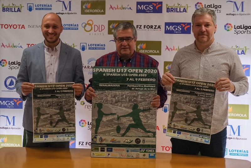EL POLIDEPORTIVO DE ARROYO DE LA MIEL ACOGERÁ EL I SPANISH U17 OPEN DE BADMINTON
