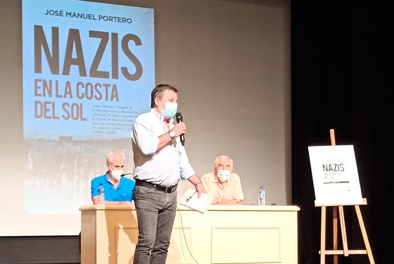 LA CASA DE LA CULTURA ACOGIÓ LA PRESENTACIÓN DEL LIBRO DE JOSÉ MANUEL PORTERO 'NAZIS EN LA COSTA DEL SOL'