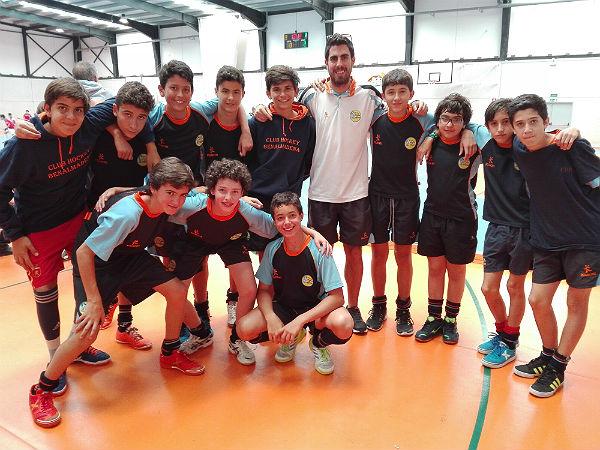 El Club Hockey Benalmádena clasificado para el Campeonato de España infantil masculino de hockey sala