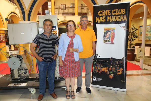 El Cine-Club Más Madera supera las 800 películas proyectadas y los 80.000 espectadores en sus 26 años de historia