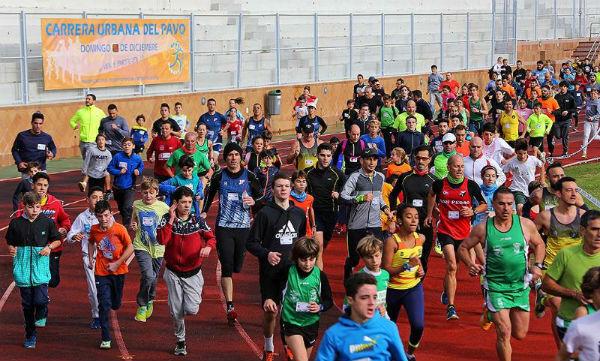 Más de 2.000 corredores participaron en la 34º Edición de la Carrera del Pavo