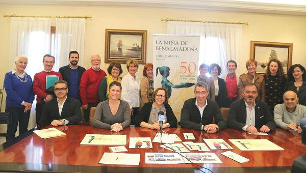Arranca la agenda de actos institucionales para la celebración del 50º Aniversario de 'La Niña de Benalmádena'
