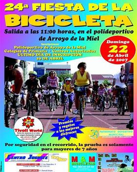 Aplazada la 24ª Fiesta de la Bicicleta