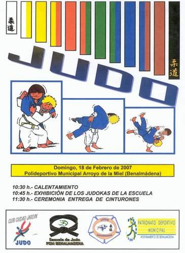 Ceremonia de entrega de Cinturones de Judo