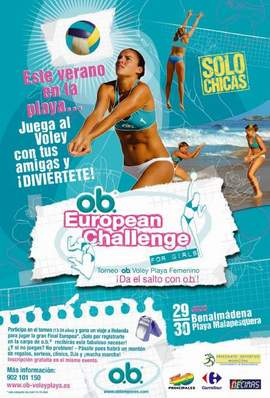 O.B. European Challenge de Voley Playa Femenino