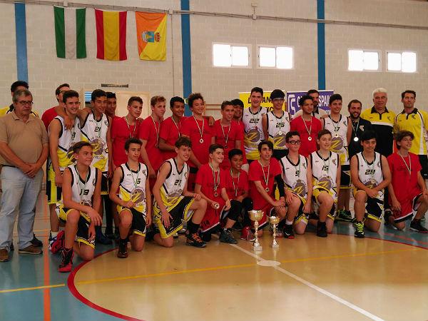 El Infantil Masculino de Benalmádena, Campeón de la Liga Provincial de Baloncesto 'Fase Oro'