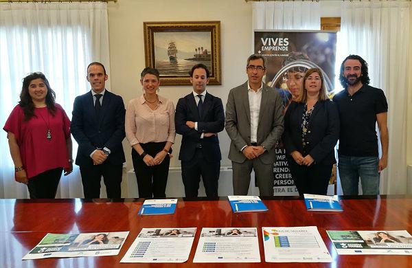 El Ayuntamiento de Benalmádena y Acción Contra el Hambre firman un nuevo convenio para el impulso de una nueva edición del programa 'Vives Emprendes'