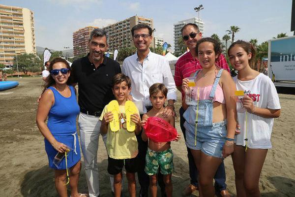 Benalmádena acoge una campaña de la Consejería de Turismo de la Junta para fidelizar al turista