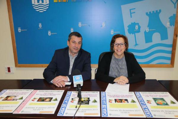 La Concejala Elena Galán presenta la Programación Especial de Cultura para Navidad