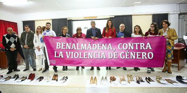 Benalmádena celebra el Acto Institucional con motivo del Día Internacional Contra la Violencia Ejercida Hacia la Mujeres