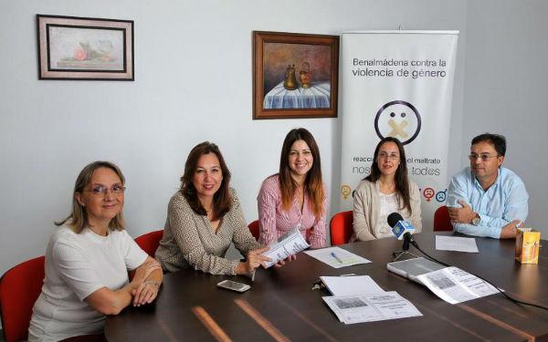 La Concejala de Igualdad, Irene Díaz, presenta el calendario de actos para la conmemoración del Día Internacional Contra la Violencia de Género