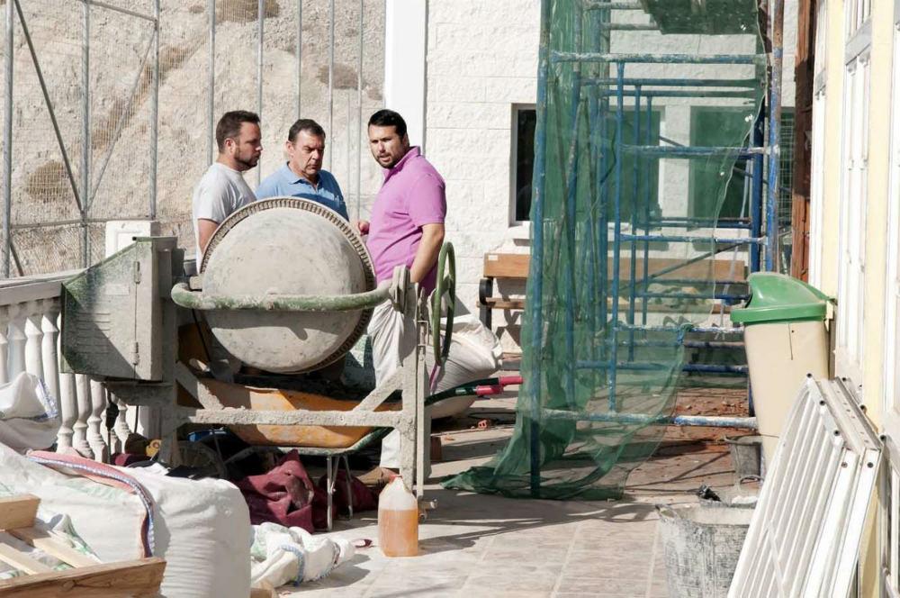 Comienzan las obras de ampliación de la sala de aeróbic del 'Ramón Rico'