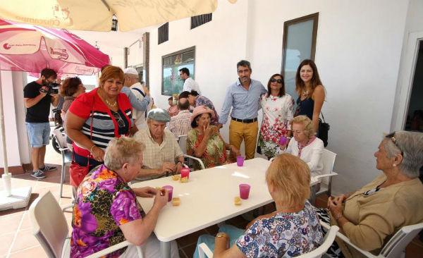 El Alcalde de Benalmádena y las Concejalas de Bienestar Social y Sanidad participan en las Jornadas de Puertas Abiertas de AFAB
