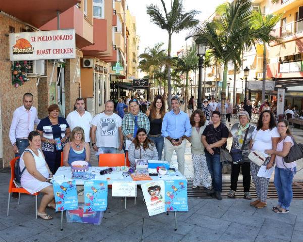 El Alcalde Víctor Navas y las Concejalas Irene Díaz y Alicia Laddaga participan con Afesol en la Celebración del Día Mundial de la Salud Mental