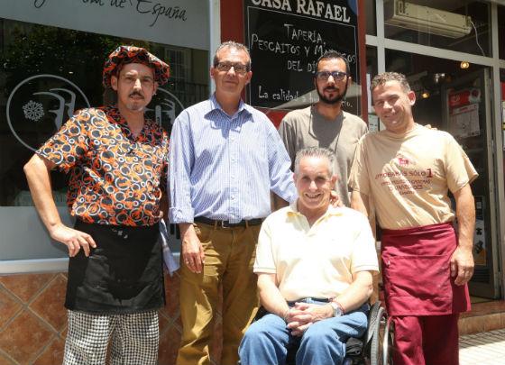 Francisco Salido agradece la colaboración en la realización de la paella de los mayores en la pasada Romería