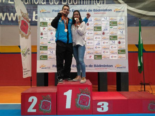 Alejandro Toro se proclama campeón de España en dobles mixtos