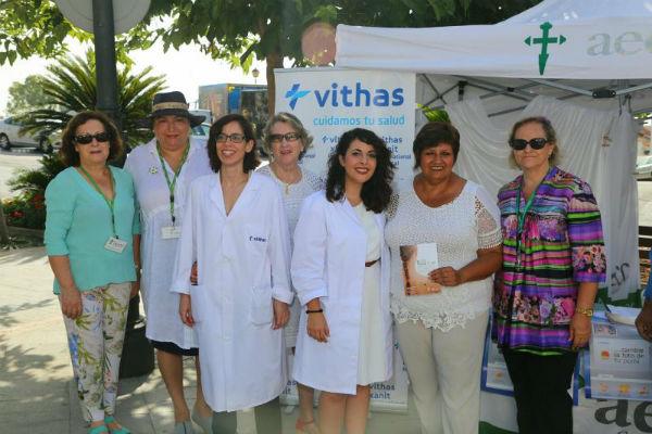 La AECC inicia su campaña estival de prevención del Cáncer de piel en colaboración con Vithas Xanit International