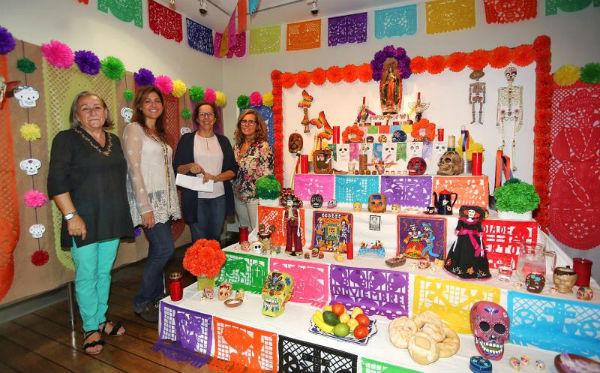 El Museo Felipe Orlando inaugura su tradicional Altar de Muertos Mexicano