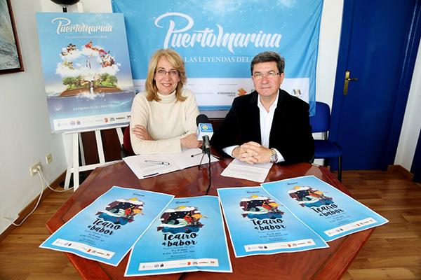 El 'Teatro a Babor' de Puerto Marina aplaza su celebración ante las previsiones de lluvia