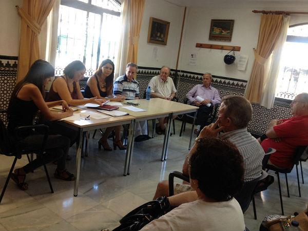 Presentada la nueva Junta de Gobierno del Centro de Participación Activa 'Anica Torres'durante la Asamblea General Extraordinaria