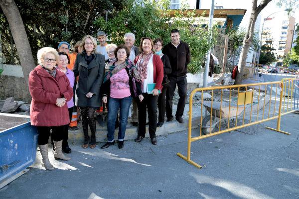 La Delegación de Vías y Obras acomete el asfaltado de la avenida de Bonanza