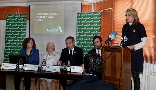 La Alcaldesa destaca la 'Admirable y esencial' labor asistencial de Cudeca en la presentación del balance anual de la fundación