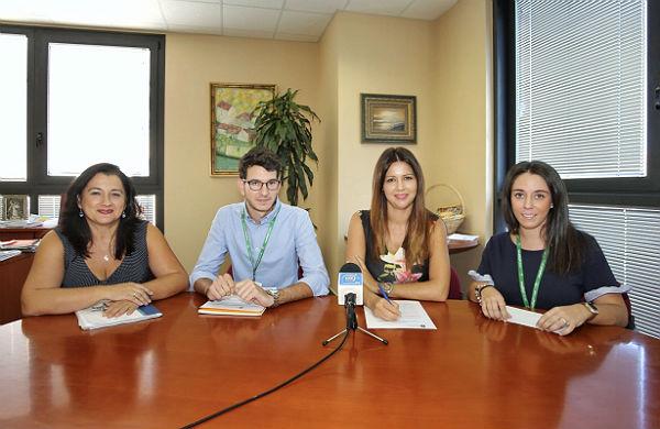 La Concejala Irene Díaz anuncia la prolongación del proyecto 'Aula de Atención Integral a Menores en Riesgo de Exclusión Social'