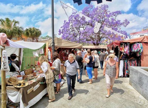 Balance positivo del Mercado Medieval en su nueva ubicación en Avenida de la Constitución