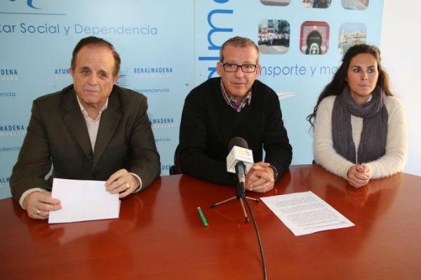 Francisco Salido da las gracias a los trabajadores de Bienestar Social por su gran labor