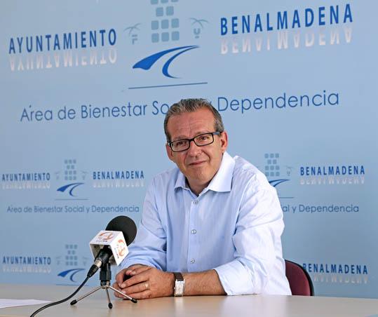 Francisco Salido hace balance sobre el 'Programa puerta de entrada o primera atención' de la Delegación de Bienestar Social y Tercera Edad